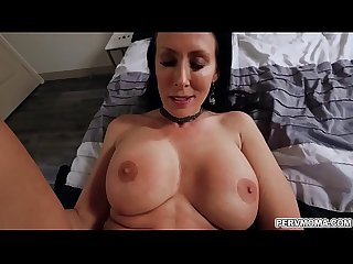 Stepmom bending her fine ass for stepsons cock!