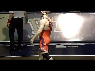 College wrestler
