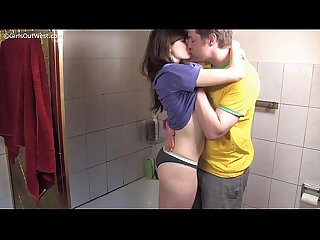 Couple having Sex in the shower anais link