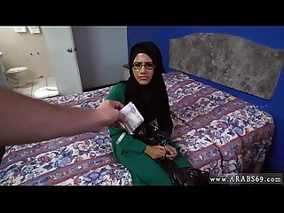 Muslim sex cam xxx desperate arab woman fucks for money