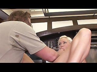 Blonde gets fucked and cum in mouth