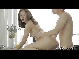 Anal hardcore sex