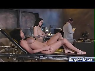 Hardcore sex between doctor and slut horny patient lpar noelle easton peta jensen rpar video 24