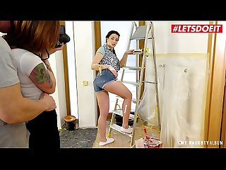 LETSDOEIT - #Taissia Shanti - Big Daddy Fucks In His New Photo Studio With A Beautiful Russian..