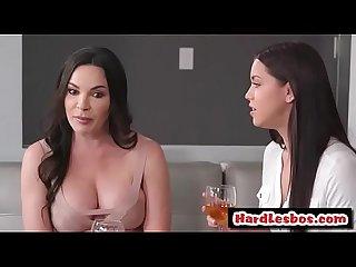 Dana De Armond & Alina Lopez - Busty lesbian wants massage