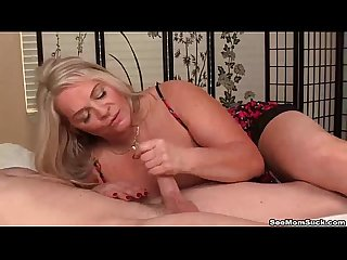 seemom-Busty milf loves young cocks