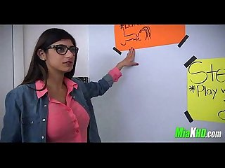 Mia Khalifa teaches her muslim friend how to suck cock 4 91