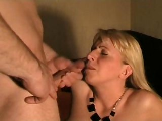 Horny milf gets ass fucked
