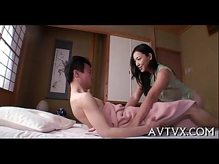 Mesmerizing oriental oral-sex