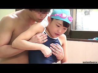 Swimming pool petite asian teen fucking in water asianteenx com