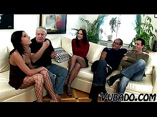 Extreme sex by mature vubado couples