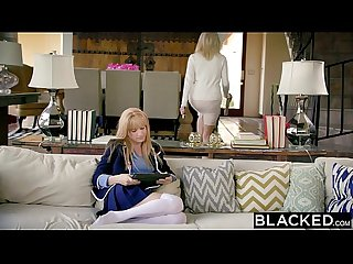 Blacked first interracial for rich girl riley nixon