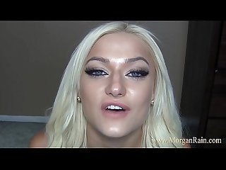 Cum All Over Morgan Rains Face Jerk Off Instruction JOI