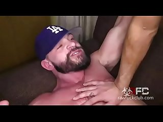 Big dick fucks hard bareback