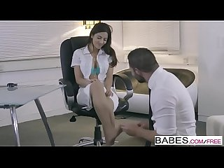 Babes - Office Obsession - Best Foot Forward starring Julia De Lucia and Max Deeds clip