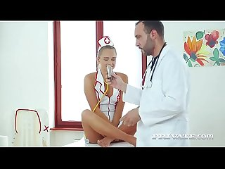 Nurse ivana Sugar passes the anal test