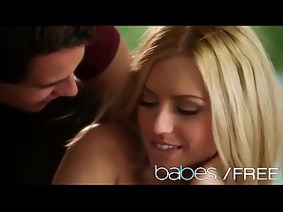 Cute blonde teen Lexi belle plays coy babes