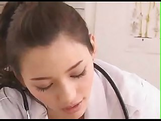 A beautiful japanese doctor gives a handjob what is the name of this actress