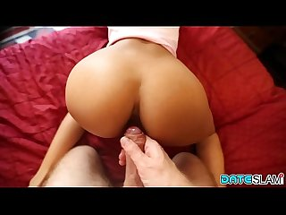 Date Slam - Sexy asian slut gets her asshole pounded - Part 1