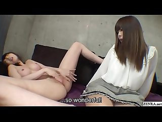 Subtitled cfnf bizarre masturbating jav interview in hd