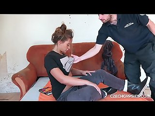 Horny cop wants Sex with dirty czech gypsy slut naomi bennet period at first she did not like this i