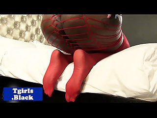 Assfingering black bigass tranny solo plays