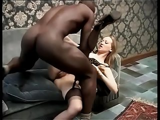 Black servant banging his lustful lady of the house