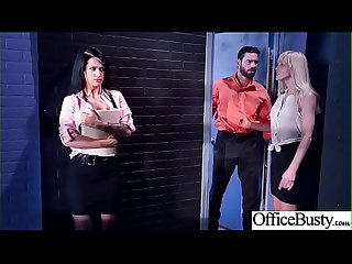 Big Melon Tits Girl (Katrina Jade) Love hardcore Sex In Office video-12
