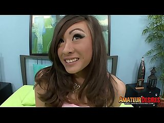Cute Asian Ariel Rose
