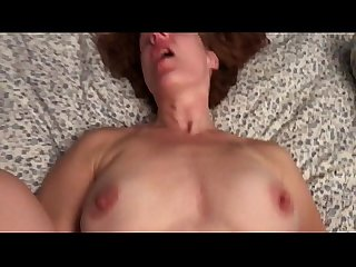 Cheating redhead wife fucks my roommate til he cums mov