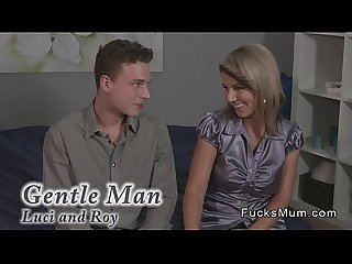 Dude fucks busty blonde mature lady