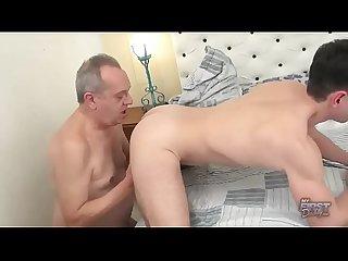 lbrack o4m rsqb young guy love grandpa big cock