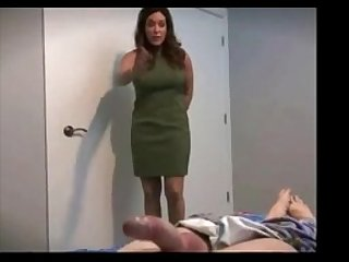Sex lesson by mature woman from themilfaholic dot com