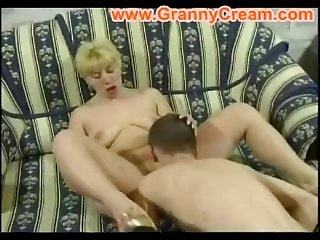 Blonde mom and son 4