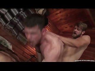 Trio caliente gay