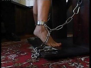 Young slave girls punished and humilited