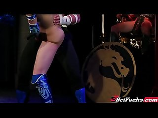 Mortal kombat between kitana and johnny cage hard dick
