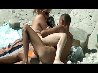 Thesandfly horny naked beach bums