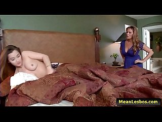 Hot And Mean Lesbians - My Husband's Mistress - Part One with Dani Daniels & Elexis Monroe