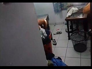 Spycam cumshot
