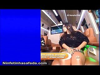 Anitta Gostosa de saia curta pagando calcinha ninfetinhasafada com