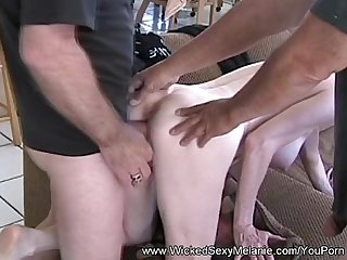 Double cock cum slut gilf