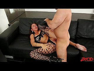 Rilynn rae fishnet seduction