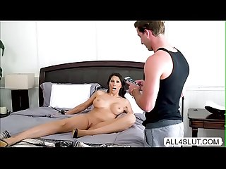 Naked milf makayla cox titty and pussy pounded by hunk dude lucas frost