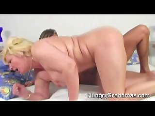 Plump granny snatch dicked