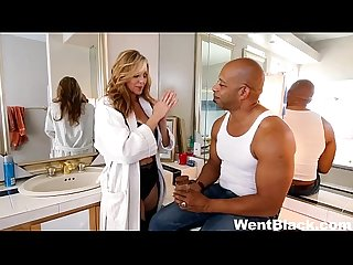 Julia ann hardcore interracial threesome