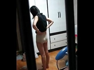 Korean Neighbor Voyeur, Free Asian Porn Video 84