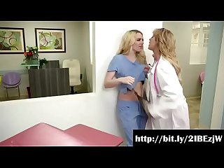 Girls way lesbian hospital waiting room cherie deville kenna james full video at http bit ly 2ibezjw