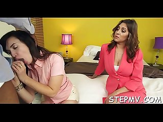 Stepmom joins in the pleasure