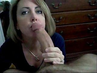 Amateur blowjob big cock